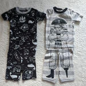 ♦️ B2G1FREE ♦️ Carter's 2 sets of shorts PJ's